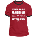 I Used To Be Married Ringer Tee