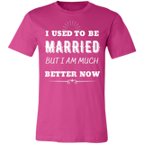 I Used To Be Married Unisex Jersey Short-Sleeve T-Shirt