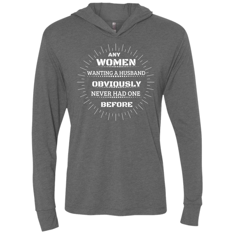 Unisex Triblend LS Hooded T-Shirt