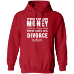 Money Can't Buy Happiness Pullover Hoodie