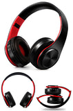 stereo bluetooth headphone FM and SD card with mic