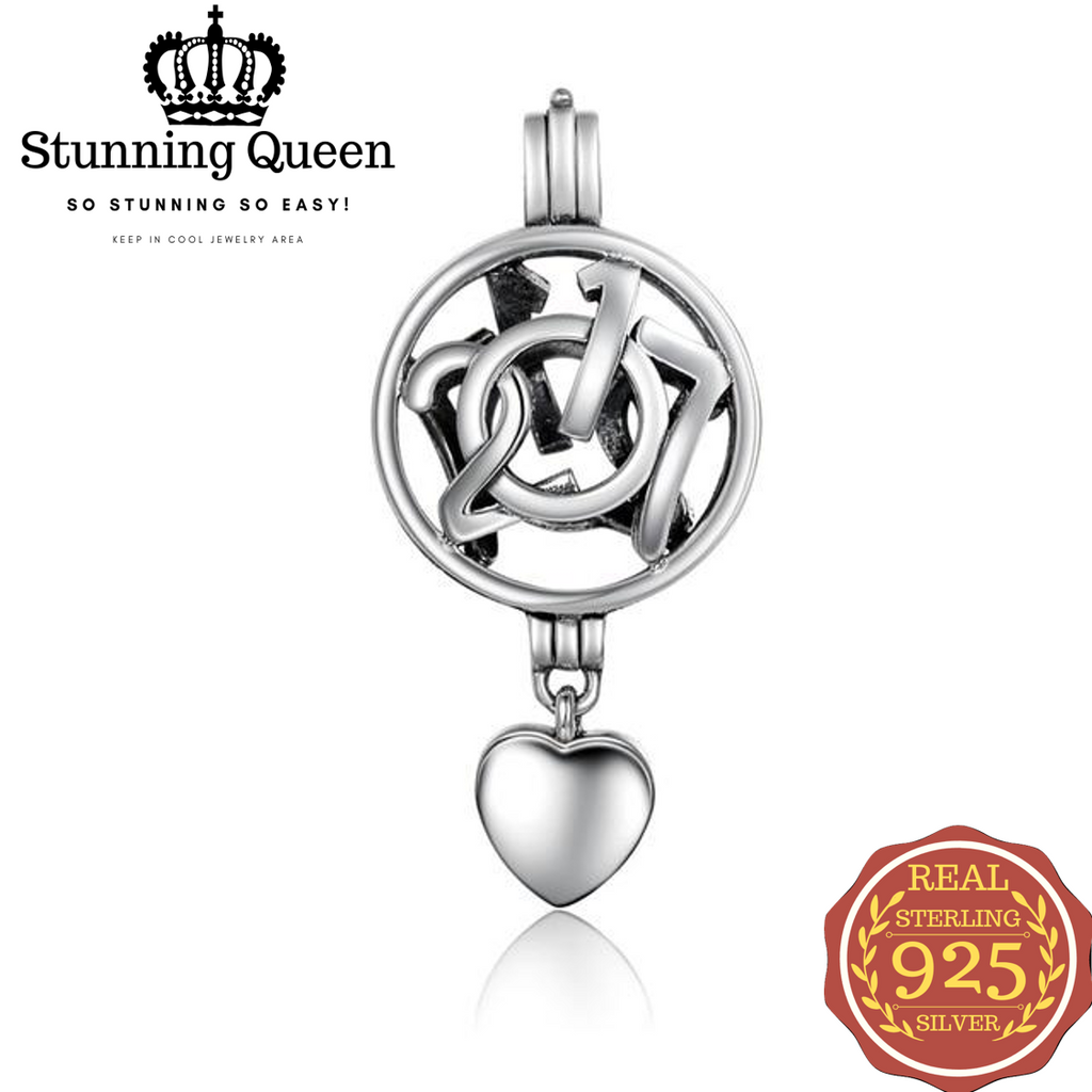 100% 925 Sterling Silver Pendant Chain Necklaces in 925 Sterling Silver|StunningQueen.com