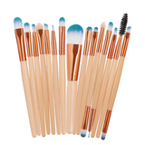 15 Pcs Professional Cosmetic Beauty Makeup Brushes Set|StunningQueen.com
