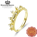 Princess Crown Ring in 925 Sterling Silver|StunningQueen.com