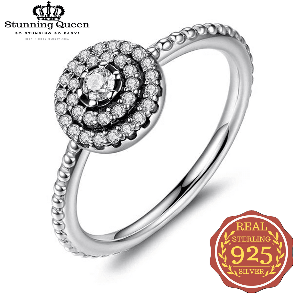 Sunflower Shape Elegance Ring|StunningQueen.com