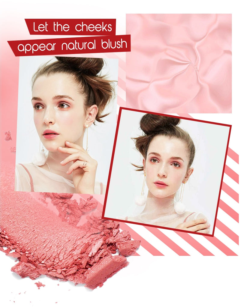 Natural Makeup Cheek Blusher Powder Palette|StunningQueen.com