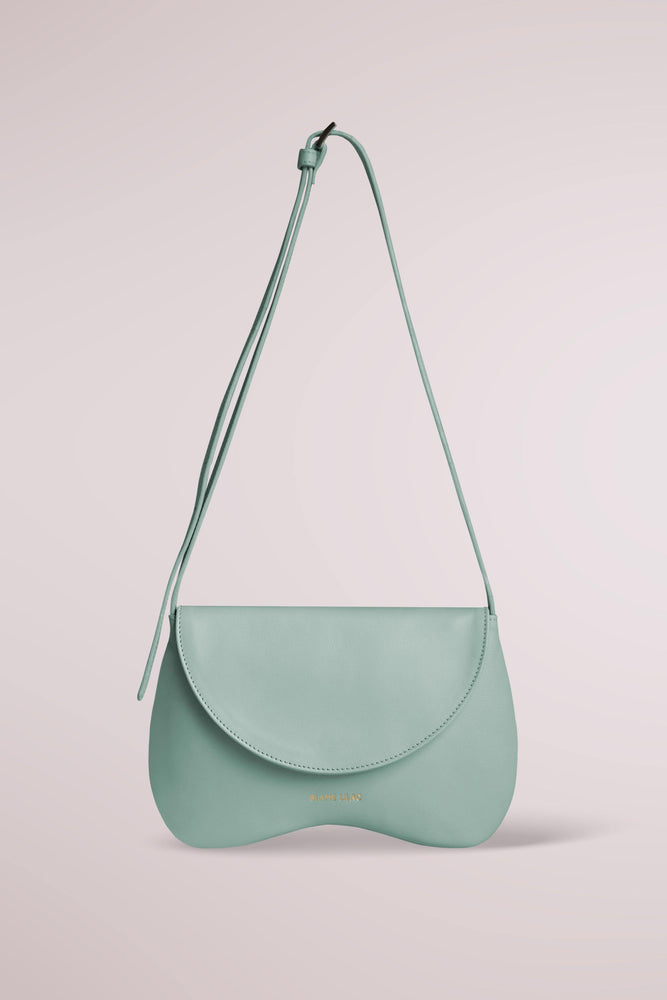 Amorsito Phone Mint Green Shoulder  Crossbody and Collar Bag by Blame Lilac