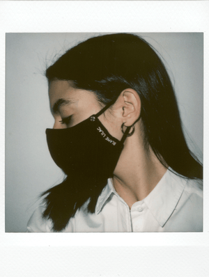 Load image into Gallery viewer, face mask, mask covering, adjustable face mask with a super soft bandana, remobable bandana. Elegant cool and trendy face mask, blame lilac