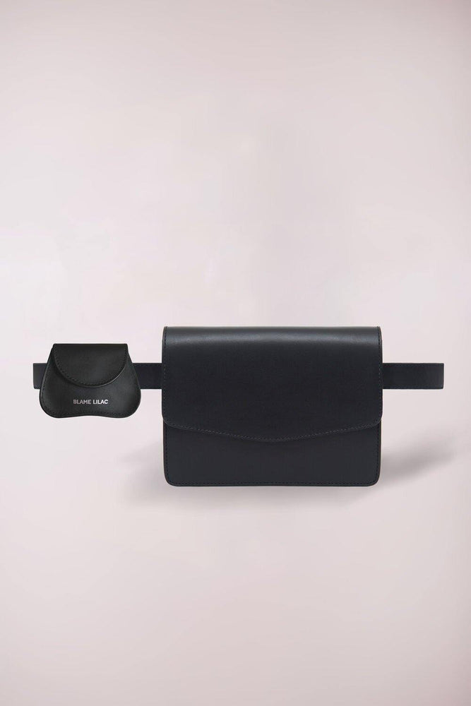 Black Multifunctional belt mini bag
