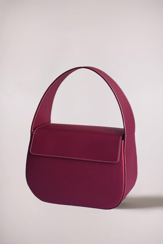 Cesta bag burgundy by Blame Lilac