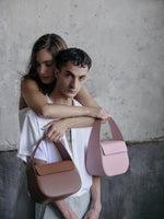 Blame Lilac spring summer structured leather bags