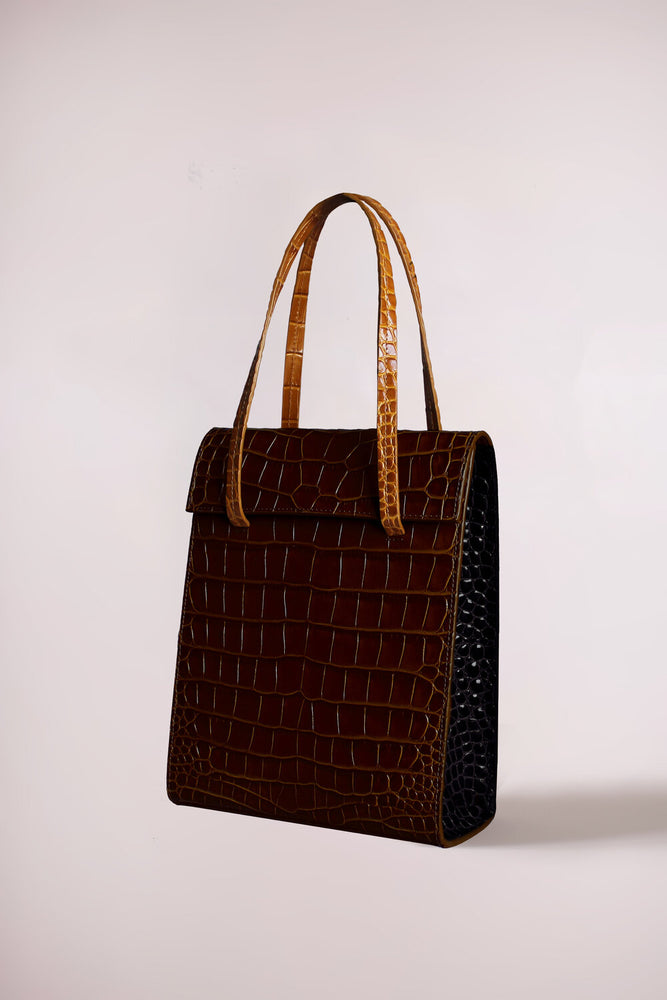Frita bag tricolor croc by Blame Lilac