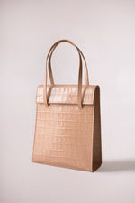 Frita bag peach croc by Blame Lilac