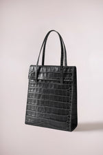 Frita bag dark grey croc by Blame Lilac
