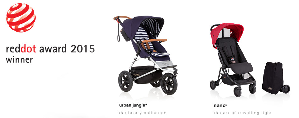 Mountain Buggy wins Red Dot design awards!