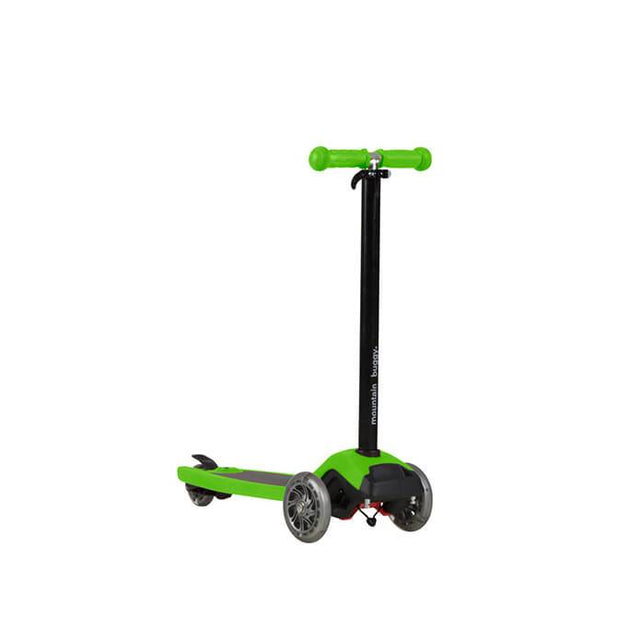 mountain buggy freerider scooter in lime green colour_lime