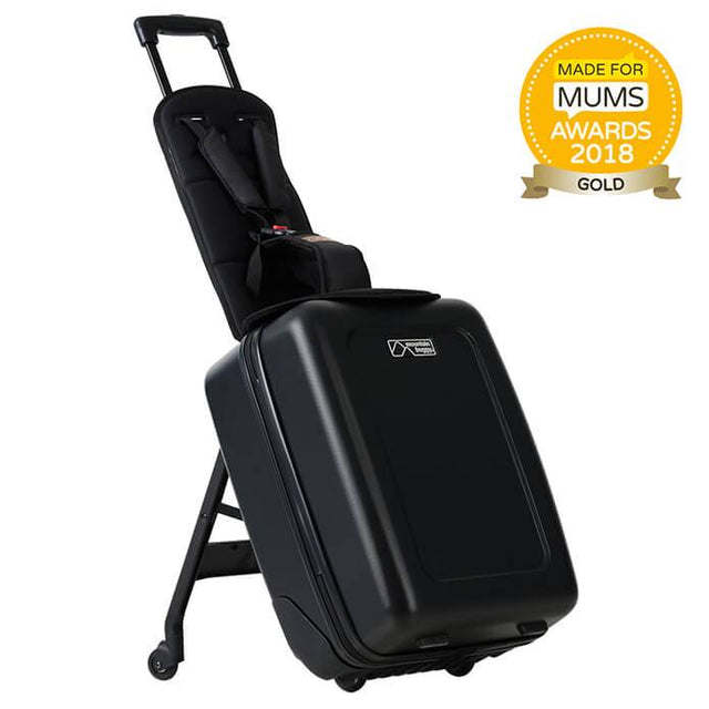 Mountain Buggy bagrider is a great kids ride on suitcase_black