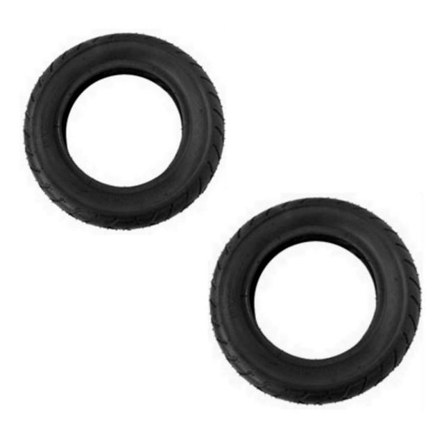 Mountain Buggy replacement 10 inch tyre set 2 replacment tyres in black_black