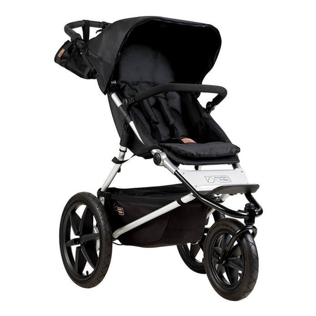 Mountain Buggy terrain stroller in onyx black colour_onyx