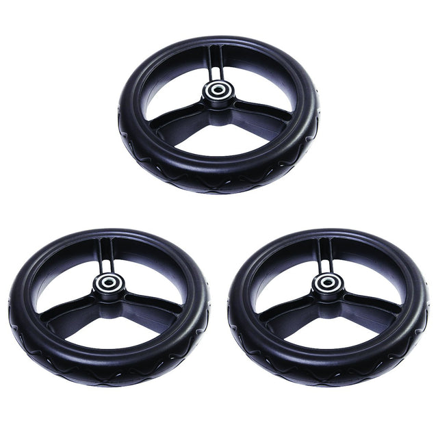 mountain buggy 12 inch aerotech wheel set for urban jungle terrain and plusone_black