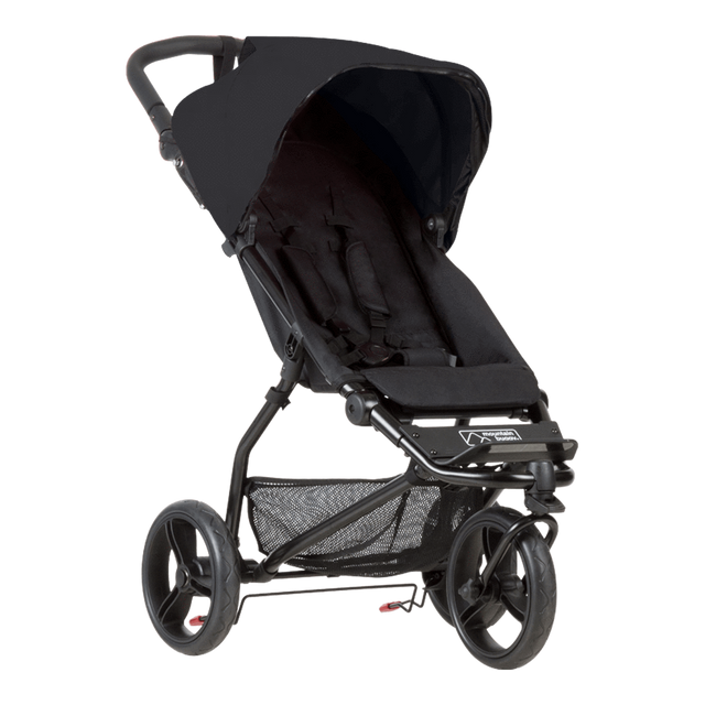 Mountain Buggy mini stroller in black colour_black