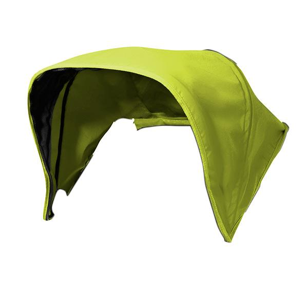 Mountain Buggy evolution swift sunhood in colour lime_lime