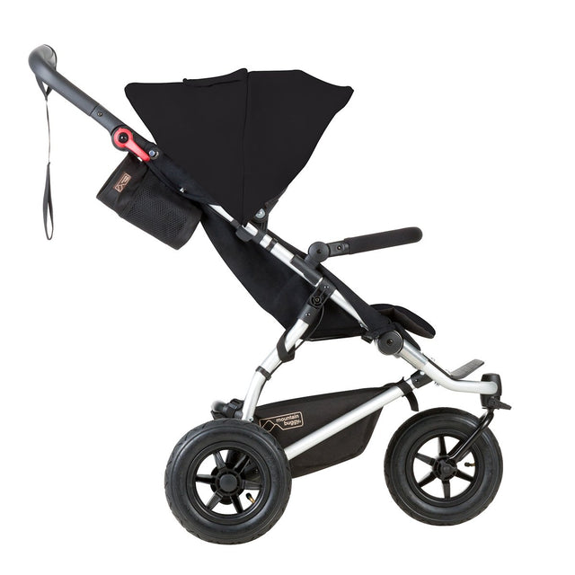 mountain buggy swift compact buggy side view shown in colour black_black