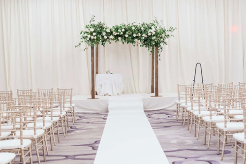 Wedding chuppah available for DC mini-wedding