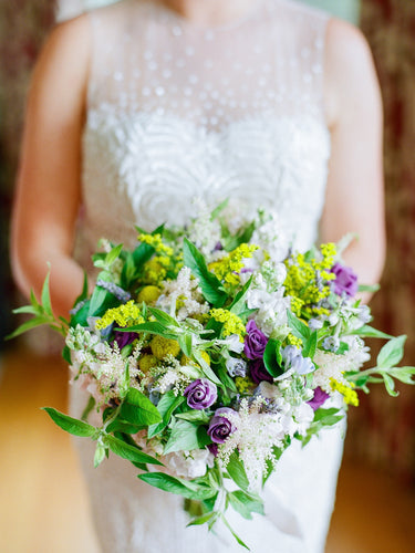 Wildflower elopement bouquet