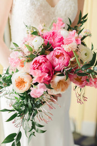 Alexandria florist mini wedding bouquet