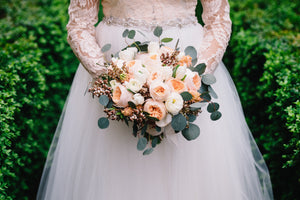 Alexandria florist mini wedding