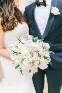 Bridal bouquet for Alexandria elopement