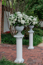 Load image into Gallery viewer, Classic wedding altar arrangements on pedestals for DC wedding