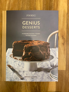 Genius DessertsCook Book