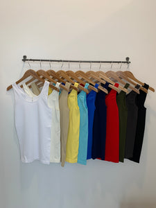 Skinny Tees Basic Tank- One Size (multiple colors)