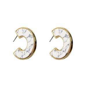 Mignonne Gavigan Resin Hoop Earrings