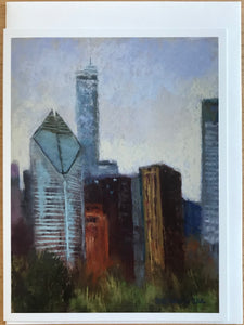 """150 North"" from an original pastel by Barb Brand Drake, 2018"