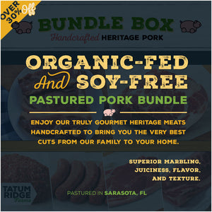 1/8th Gourmet Heritage Pork Bundle Box