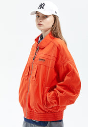 Ella Cotton Flight Jacket