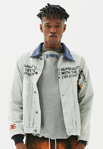 Pelican Washed Denim Jacket