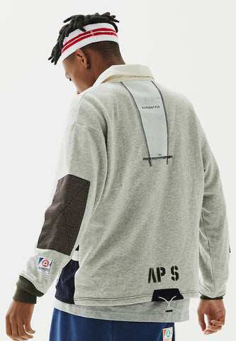 Snipe Patchwork Polo Shirt