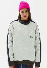 Fowl Padded Sweatshirt