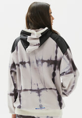 Tanagers Check Dye Hoodie