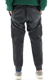 Fenix Vegan Leather Padded Joggers