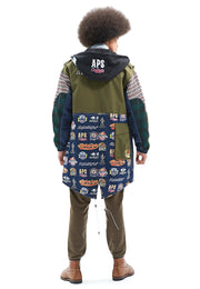 Helin Monster Parka with Padded Vest