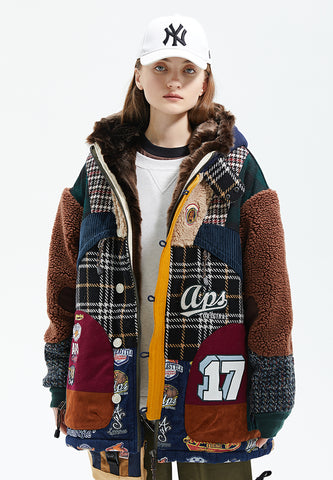 Chad Oversize Faux Fur Lined Jacket