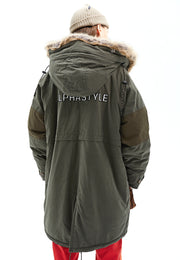Karac Faux Fur Lined Hooded Parka
