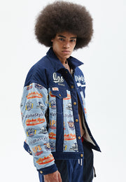 Ron Vegan Sherpa Lined Denim Jacket