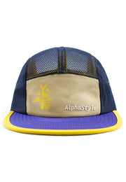 Stipe Mesh Camp Cap