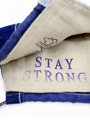 AlphaStyle® STAY STRONG Face Shield Pack